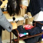 奈良県 大和郡山市小泉駅前美容室SWEET ROOM 施術勉強~!