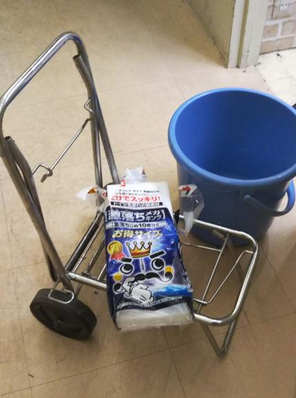 奈良県 大和郡山市小泉駅前美容室SWEET ROOM 大掃除!