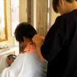 奈良 大和郡山市小泉駅前美容室SWEET ROOM オーナーをカット!!